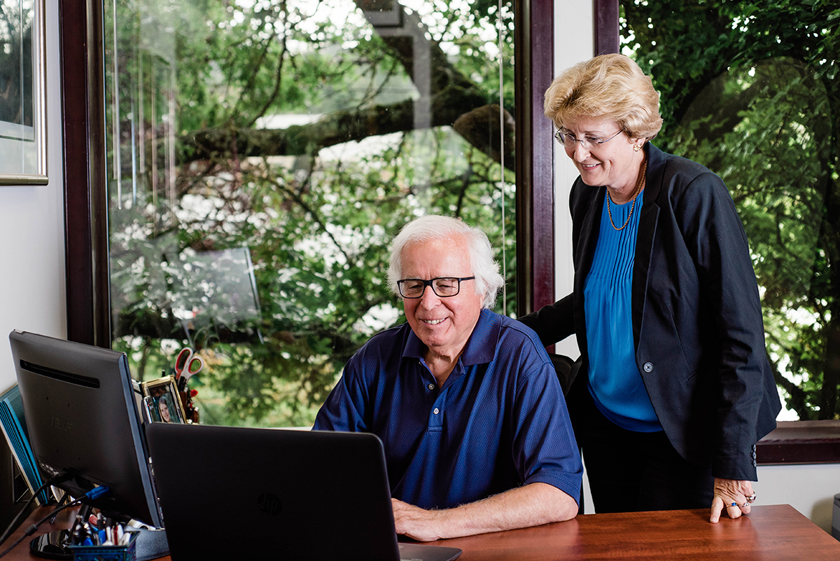 Jim Kuhn & Joan Edgell